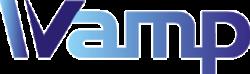 logo of wamp, full word