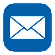 icon of email address